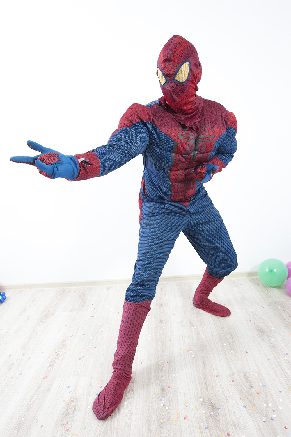 This Halloween, web-swing into action as Marvel Comic's most famous and beloved superhero with Spider-Man Halloween costumes! Toddlers, kids, teens, and adults alike can don Spidey's classic red-and-blue duds and be ready to roll, leap, climb walls, or go web-slinging across town.