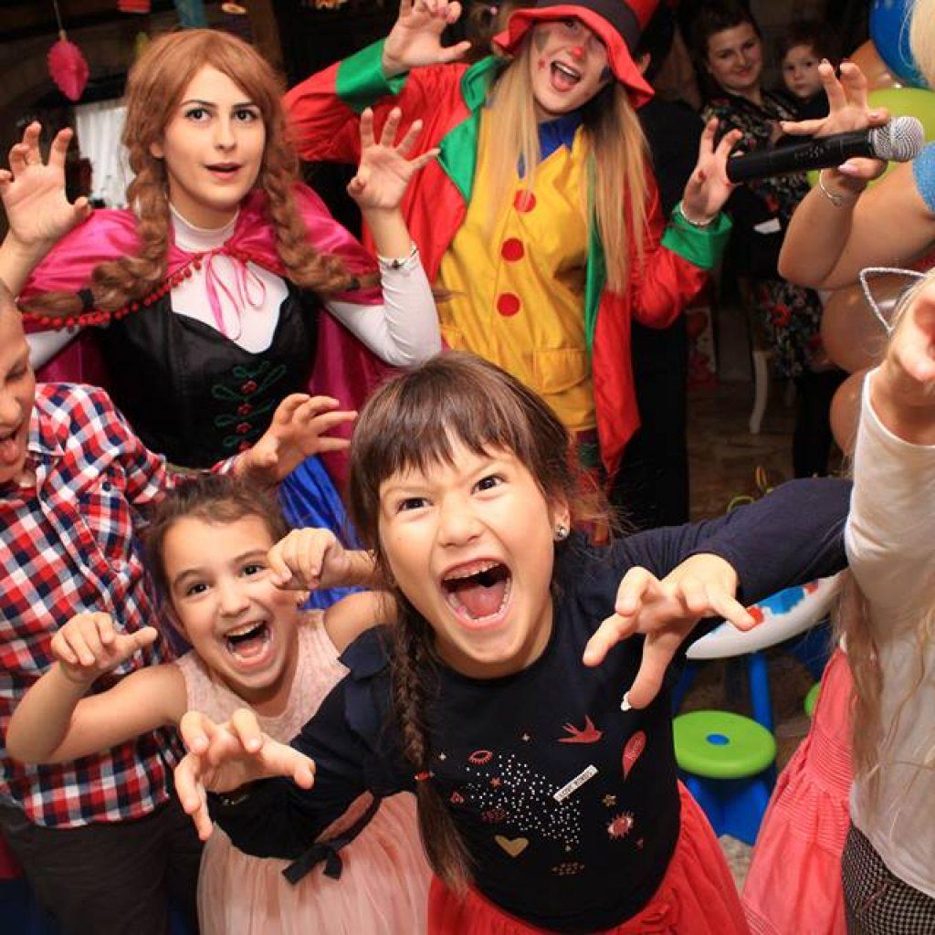 Petreceri pentru copii in Iasi