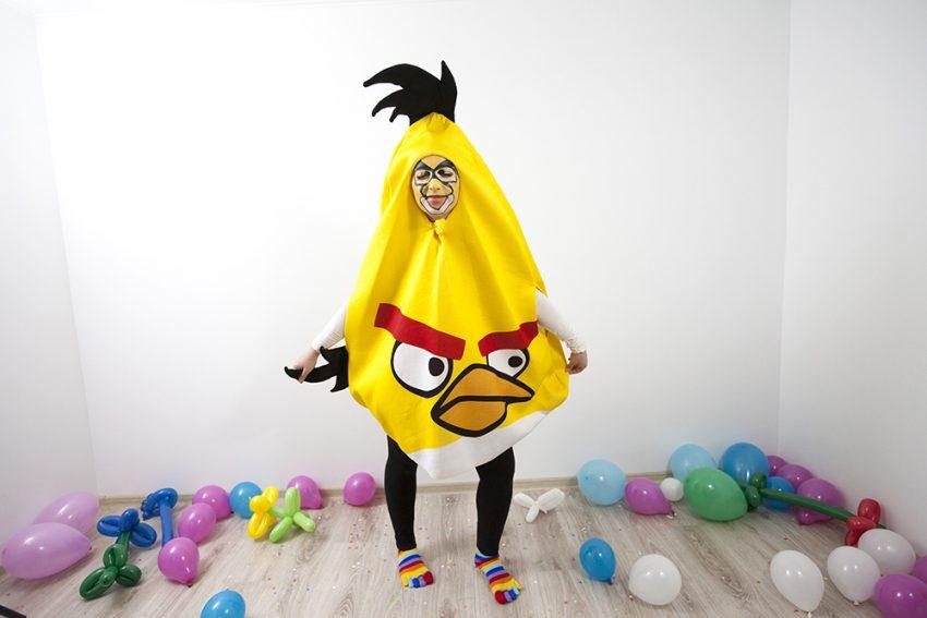 Angry Birs, cea mai nervoasa pasare animator la petreceri pentru copii