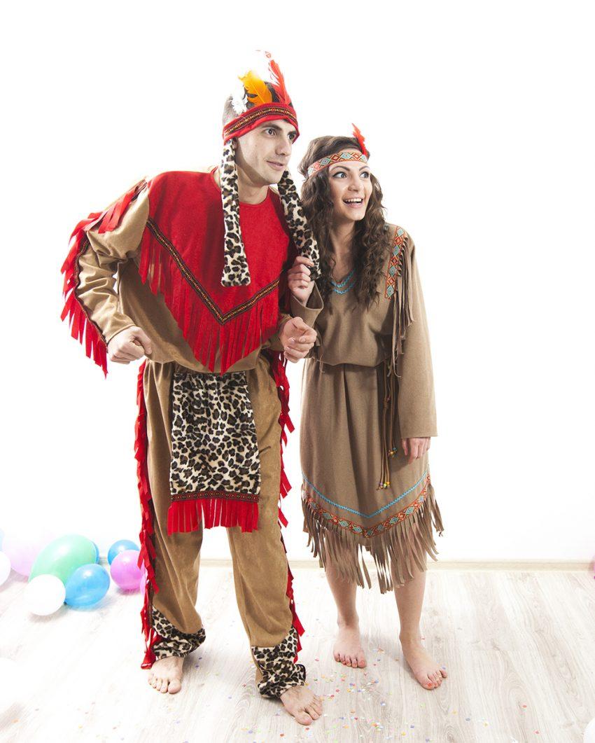 Costume de indieni - Pocahontas la petreceri in Iasi