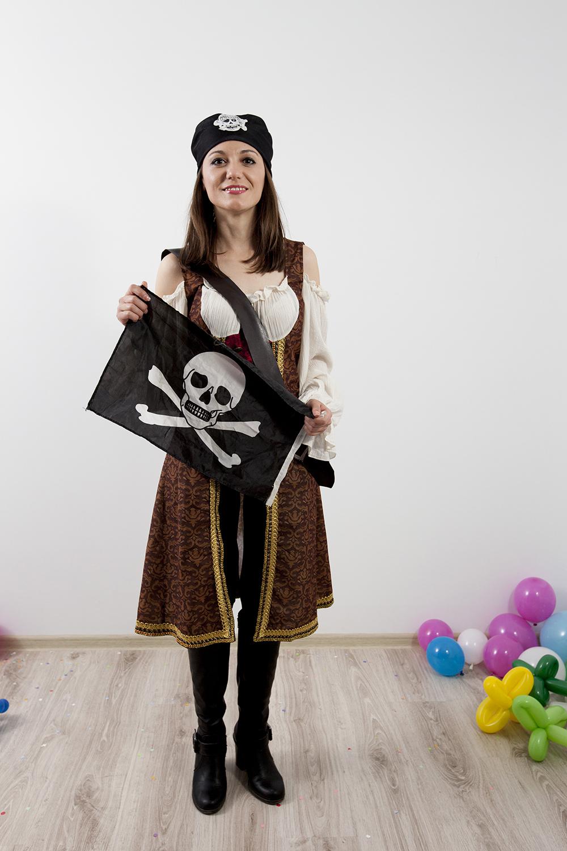 Pirat si Piraterita - animatori gata de distractie oricand