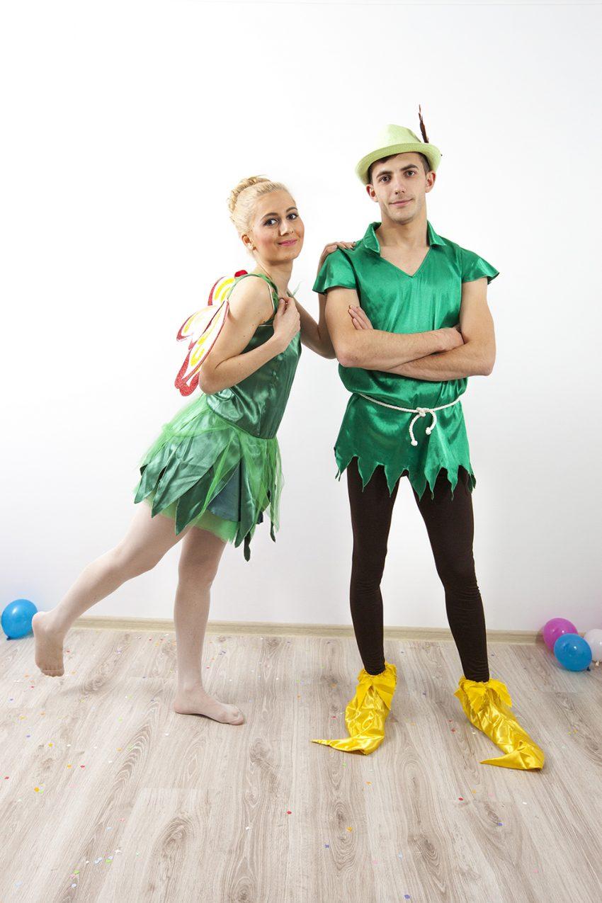 Peter Pan si Tinkerbel (Clopotica) - animatori in Iasi