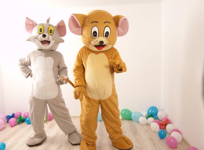 Tom si Jerry mascote pentru petreceri in Iasi