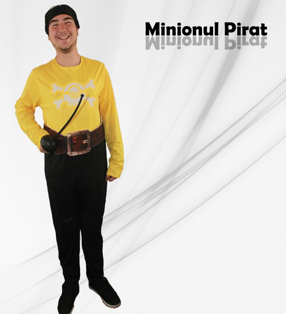 Minionul Pirat - cel mai nou personaj la petreceri pentru copii in Iasi