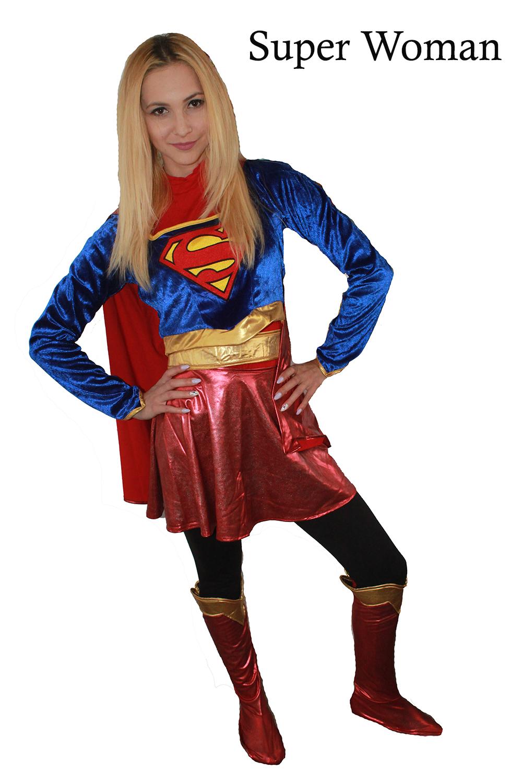 Super Woman (varianta feminina de la Superman)