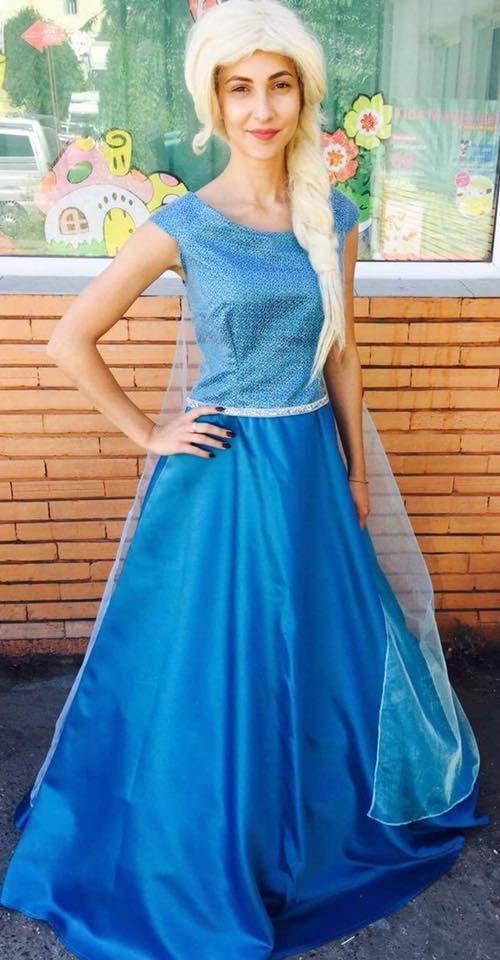 Elsa din Frozen la petreceri pentru copii in Iasi