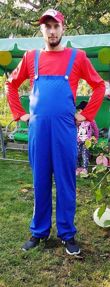 Mario animator la petreceri pentru copii in Iasi